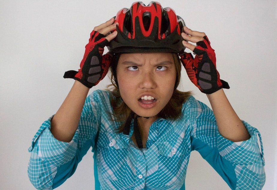 Diana Nguyen used to be lazy. Then she got on a bike.