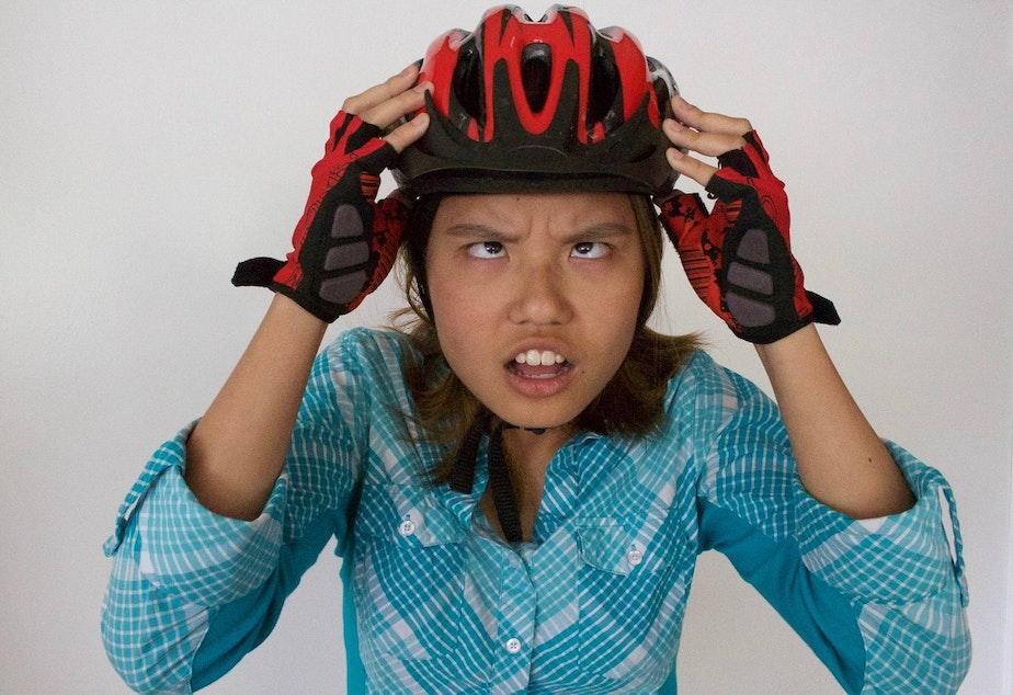 caption: Diana Nguyen used to be lazy. Then she got on a bike.