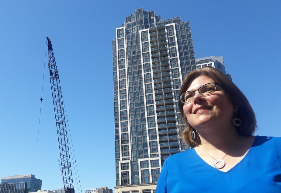 Bellevue City Councilmember Jennifer Robertson