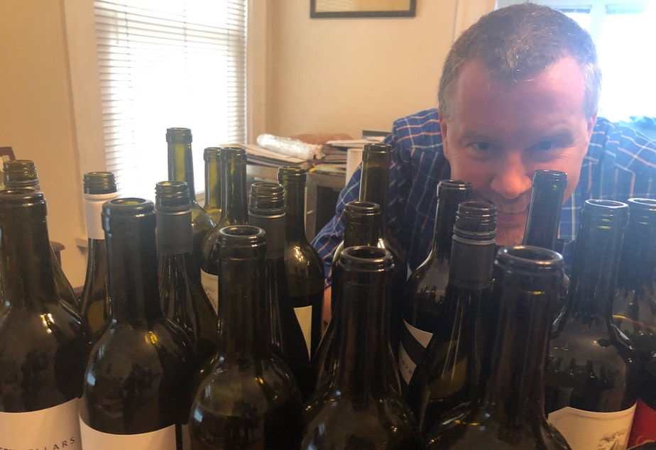 Sean Sullivan is a contributing editor at Wine Enthusiast magazine. He tastes hundreds of bottles each week, but he says cans are becoming big business across the U.S.