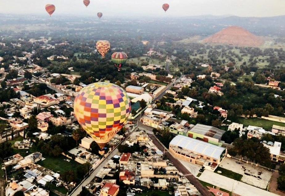 Balloons over Mexico