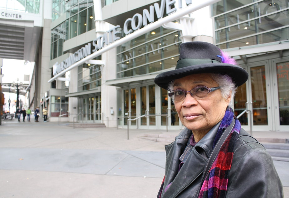 Sharon Sutton, an architecture professor at the University of Washington, thinks the convention center shouldn't grow larger.